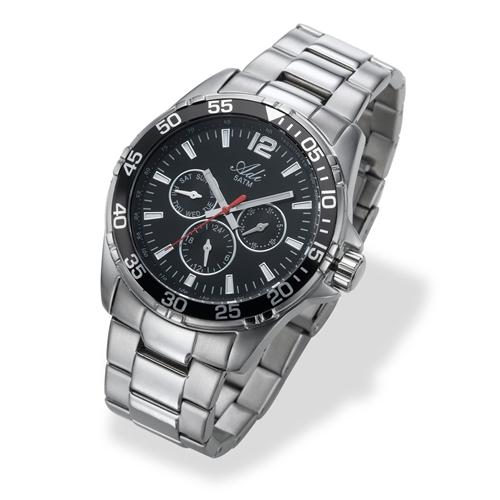 שעון יד לגבר מבית שעוני עדי עם תצוגת תאריך