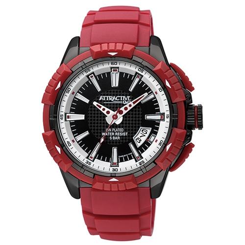 שעון יד לגבר בעיצוב ספורטיבי