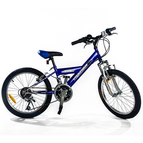 """אופני הרים """"20-""""26 מבית EZ אדום או כחול"""