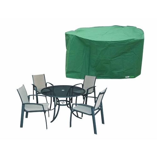 כיסוי לסט שולחן עגול +4 כסאות