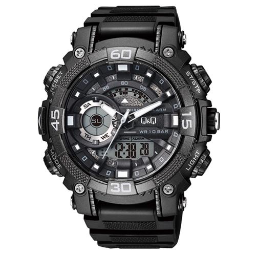 שעון אנלוגי דיגיטלי מחברת Q&Q דגם QS-GW87J001Y