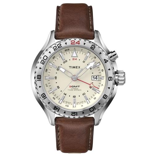 שעון יד מעוצב לגבר TIMEX עמיד למים ותאורת לילה