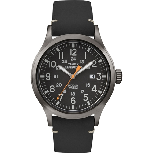 שעון יד לגבר TIMEX עם תאורת INDIGLO דגם TI-4B019