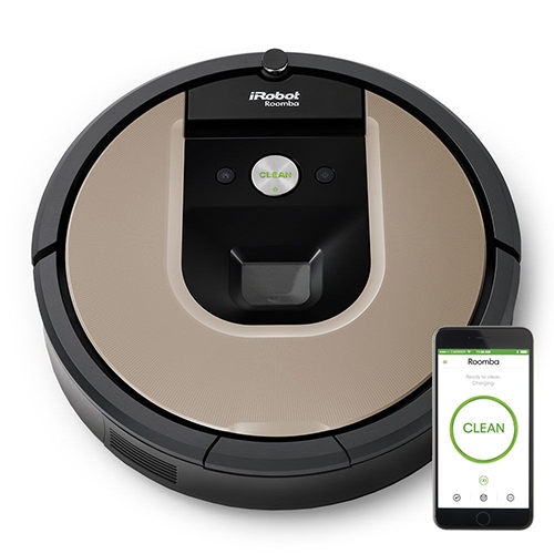 שואב אבק רובוטי IROBOT דגם Roomba 966