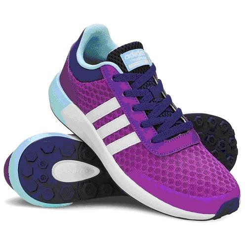 נעלי ספורט לנוער ADIDAS CLOUDFOAM RACE בצבע סגול