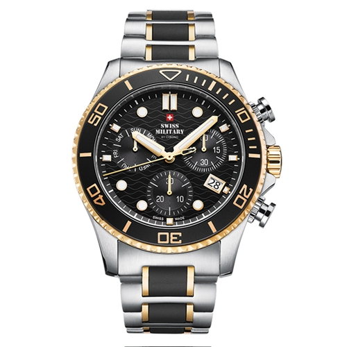 שעון יד כרונוגרף לגבר SWISS MILITARY SM3405102