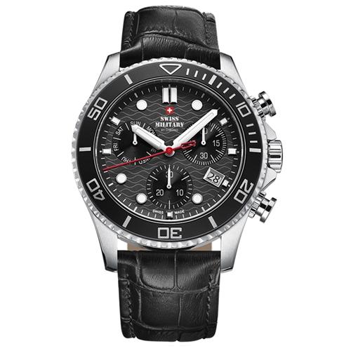שעון יד כרונוגרף לגבר SWISS MILITARY SM3405104
