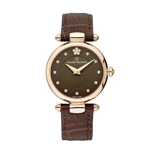 שעון יד שוויצרי לאישה מבית CLAUDE BERNARD