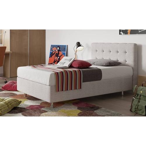 מיטת נוער מרופדת עם ארגז מצעים דגם Roma