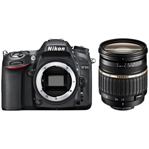 """מצלמת רפלקס מקצועית ניקון D7100+ עדשה 17-50 מ""""מ"""