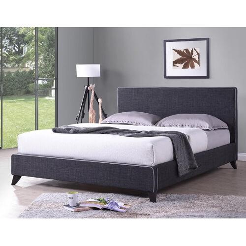 מיטה זוגית מרופדת בעיצוב צעיר דגם עמית מבית HOME DECOR