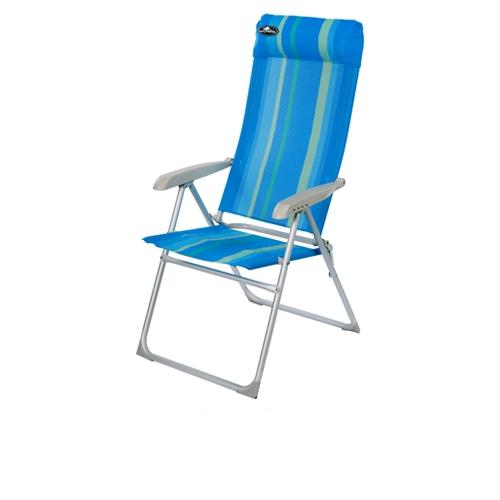 כיסא אלומיניום מתקפל 8 מצבי ישיבה דגם Barcelona