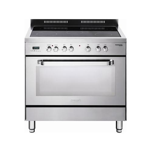 """תנור משולב כיריים קרמיות - רחב 90 ס""""מ"""