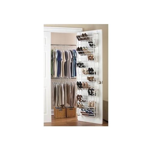 מתלה לתלייה מאחורי הדלת, עד 36 זוגות נעליים