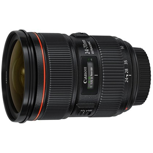 עדשת קנון למצלמת רפלקס 24-70mm f2.8 L II USM