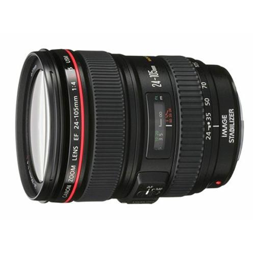 עדשת קנון למצלמת DSLR 24-105mm f/4 L IS USM