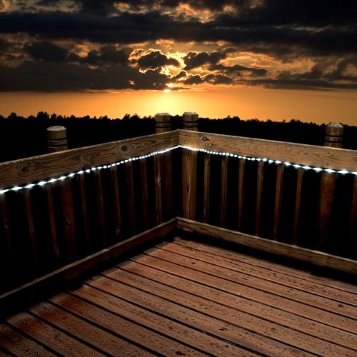 שרשרת צינור 50 נורות LED סולארית