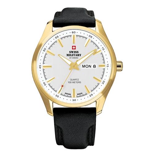 שעון יד יוקרתי לגבר מבית SWISS MILITARY