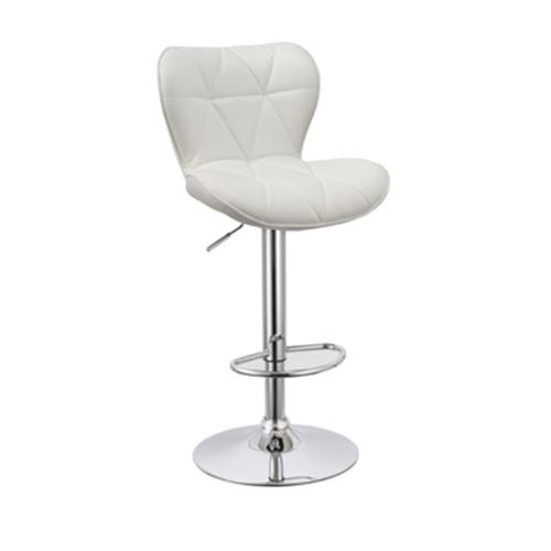 זוג כסאות בר מעוצבים מרופדים ונוחים לישיבה