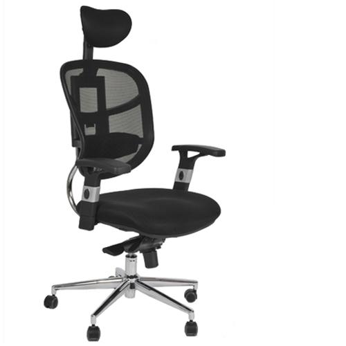 כסא מנהלים ארגונומי עם גב רשת אורטופדי
