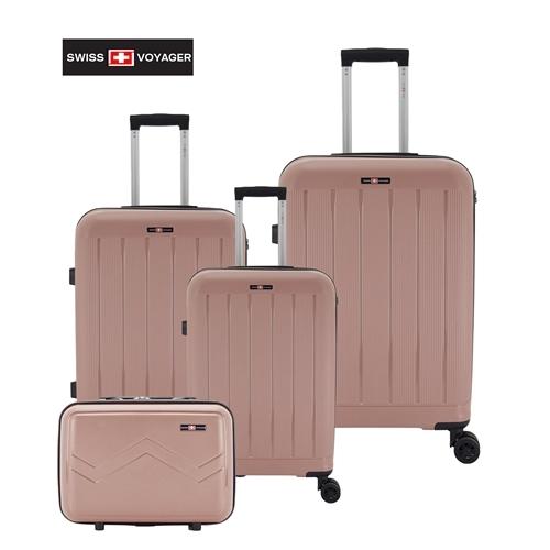 """סט מזוודות קשיחות 3 יח 28"""" 24"""" 20"""" SWISS ARIZONA"""