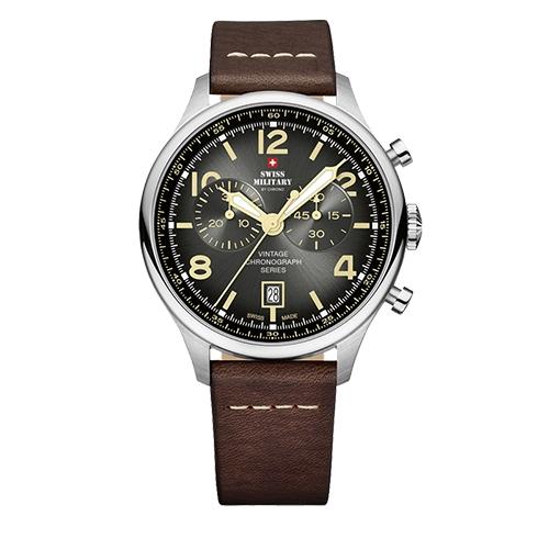 שעון יד כרונוגרף לגבר SWISS MILITARY