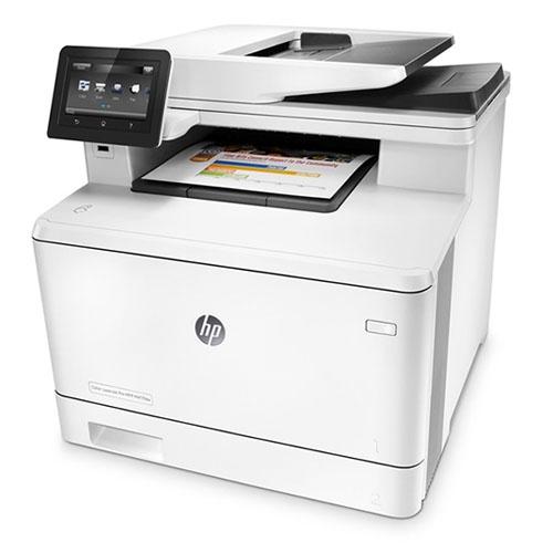 מדפסת צבעונית משולבת HP LaserJet Pro MFP M477fnw
