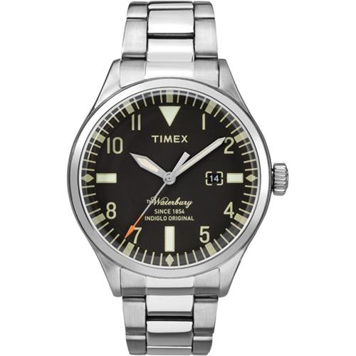 שעון יד אנלוגי עם תאורה לגבר מבית TIMEX