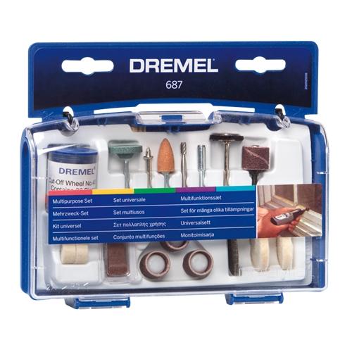 ערכה רב-שימושית מבית DREMEL עם 52 אביזרים