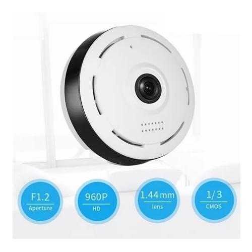 מצלמת אבטחה פנורמית 360 אלחוטית 960P P2P FULL HD