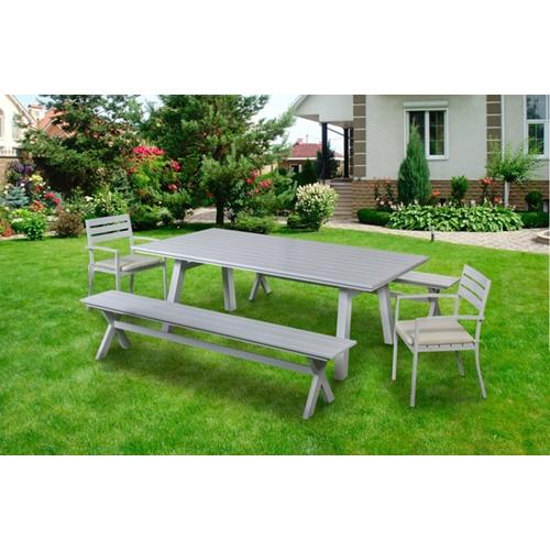 מערכת ישיבה יוקרתית מאלומיניום עיצוב פרקטי ונוח