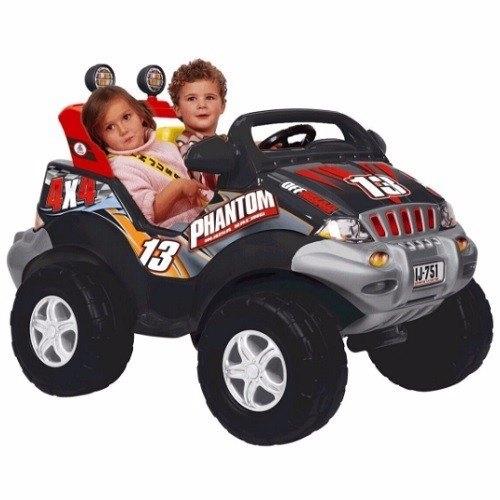 ג'יפ ממונע INJUSA SPAIN לילדים V12 עם 2 מושבים