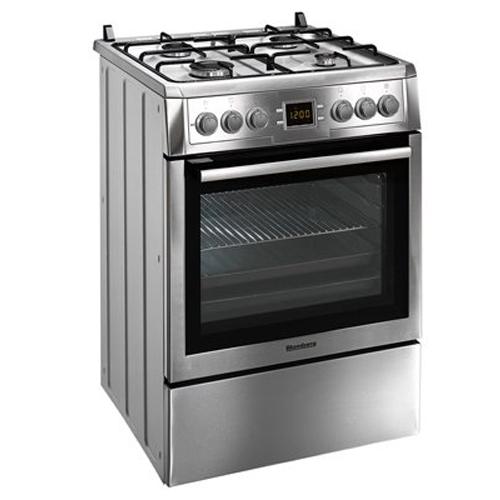 תנור אפיה משולב כיריים גז נירוסטה תא 65 ליטר