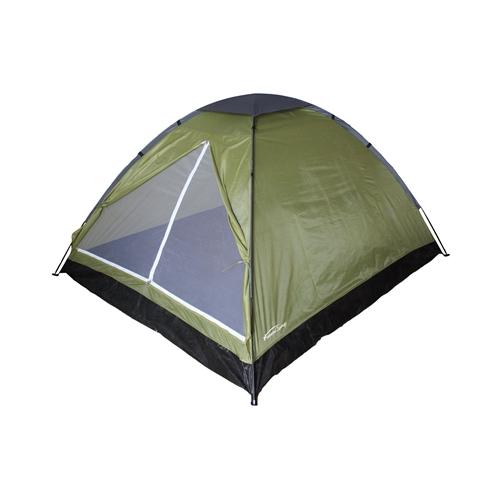 אוהל BASIC ל-2 אנשים בעל כניסה רחבה CAMPTOWN