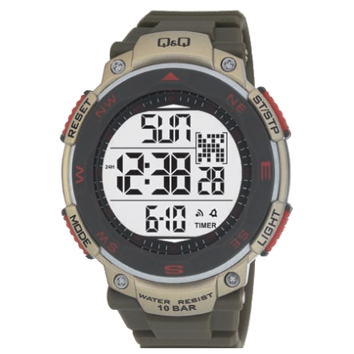 שעון יד דיגיטלי מבית Q&Q מחברת CITIZEN יפן