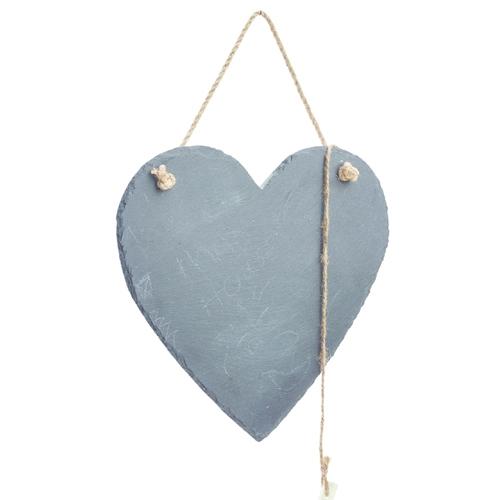לוח מחיק בצורת לב עשוי אבן טבעית