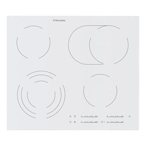 כיריים קרמיות TOUCH צבע לבן Electrolux