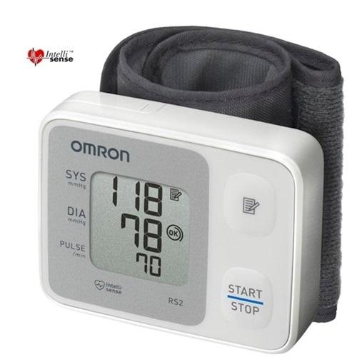 מד לחץ דם לפרק כף היד OMRON דגם: RS2