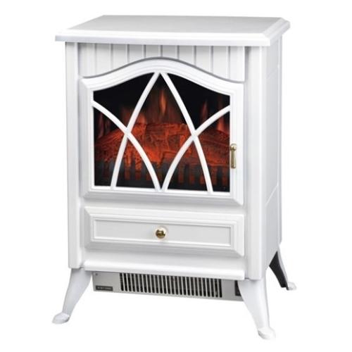 תנור קמין לבן 1800W מבית COBRA