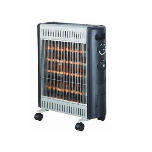 תנור אינפרא 4 גופים + מפזר חום HOMETECH 2400W