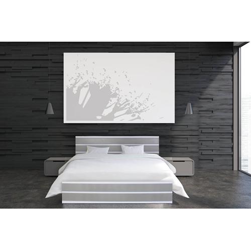 מיטה העשויה מלמין יצוק