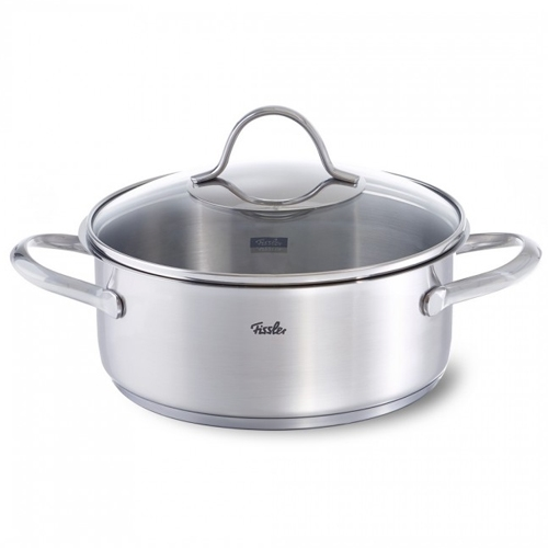 "סיר קדרה20 ס""מ 2.4 ל' מסדרת FISSLER Paris"