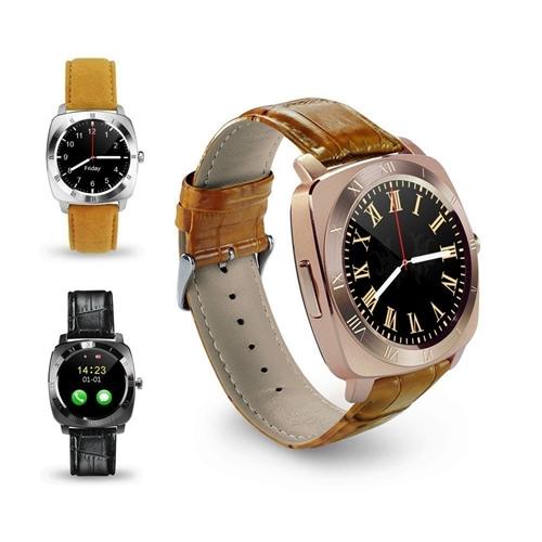 שעון יד מתכתי ויוקרתי משולב טלפון חכם עצמאי