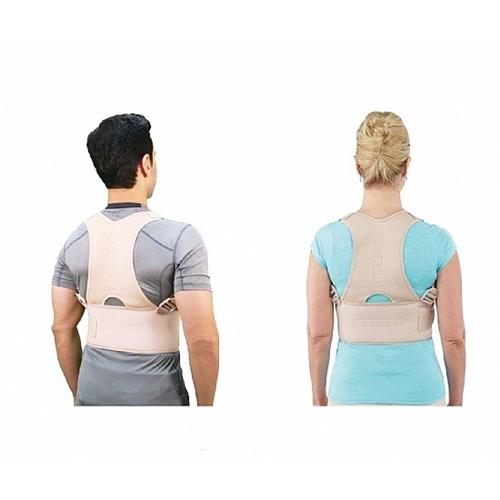 חגורת גב מגנטית מתכווננת להקלה בעומס השרירים