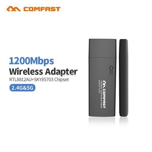 כרטיס רשת אלחוטי מהיר וחזק - 1200Mbps