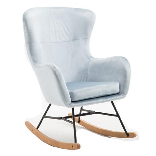 כורסא מעוצבת עם רגלי נדנדה HOME DECOR