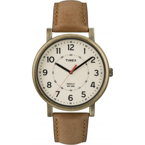 שעון יד לגבר TIMEX עם תאורת INDIGLO