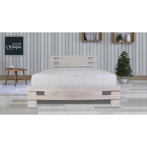 מיטה זוגית מעץ אורן מלא