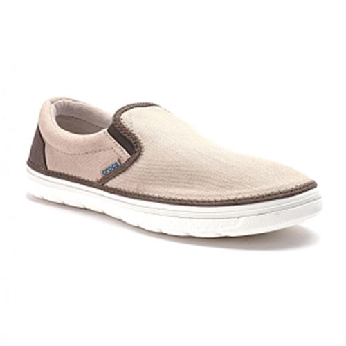 סניקרס גברים Crocs קרוקס דגם Norlin Canvas Slip-on