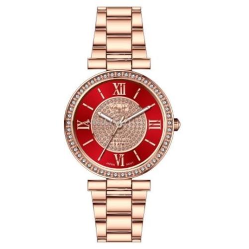 שעון יד יוקרתי לאישה G&P עשוי פלדת אל חלד